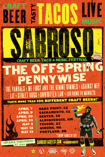 Sabroso Craft Beer, Taco and Music Festival.
