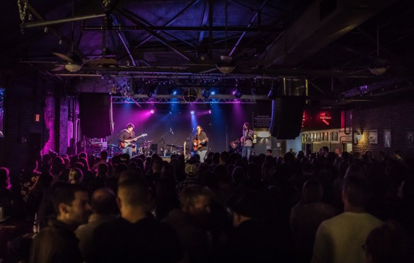 Justin Nozuka @ Brighton Music Hall 3/15/17. Photo by Pat Gilrane Photo (@njpatg) for www.BlurredCulture.com.