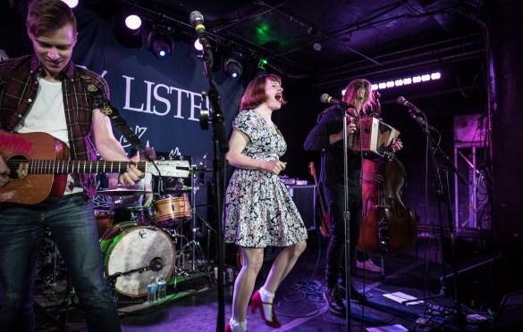 Skinny Lister @ Underground Arts 3/11/18. Photo by Pat Gilrane Photo (@njpatg) for www.BlurredCulture.com.