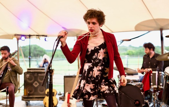 Ezra Furman at Luck Reunion 3/15/18. Photo by Derrick K. Lee, Esq. (@Methodman13) for www.BlurredCulture.com.