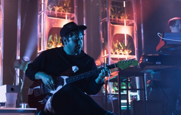 Unknown Mortal Orchestra @ Brooklyn Steel 4/25/18. Photo byAubrey Wipfli (@aubreyy) for www.BlurredCulture.com.
