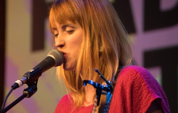 Wye Oak @ Austin Convention Center during SXSW 3/14/18. Photo by Mike Golembo (@Instalembo) for www.BlurredCulture.com.