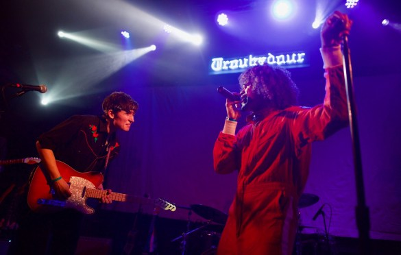 Dean Passarella & Kameron Grae @ The Troubadour 3/29/18. Photo by Derrick K. Lee, Esq. (@Methodman13) for www.BlurredCulture.com.