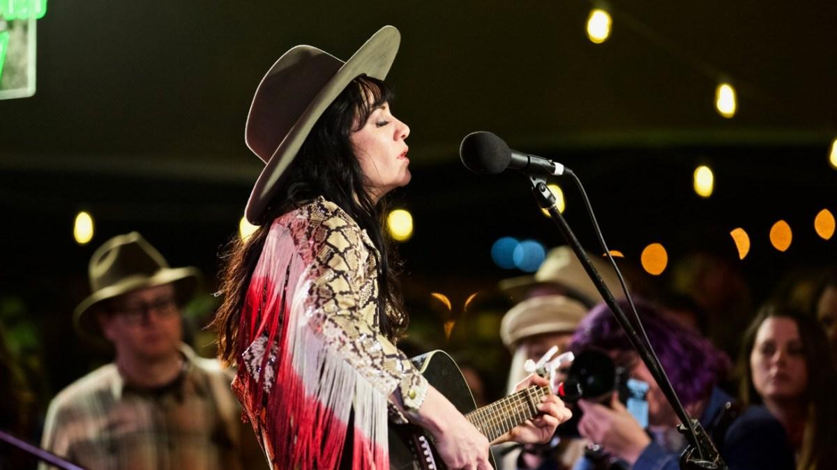 Nikki Lane at Luck Reunion 3/15/18. Photo by Derrick K. Lee, Esq. (@Methodman13) for www.BlurredCulture.com.