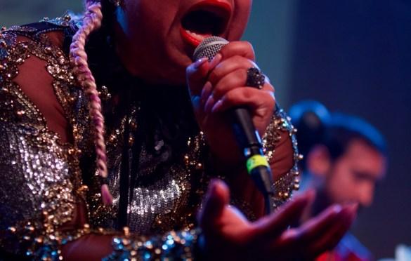 Jen Awad @ Broke L.A. 4/21/18. Photo by Derrick K. Lee, Esq. (@Methodman13) for www.BlurredCulture.com.