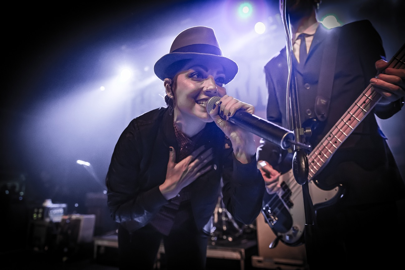 The Interrupters 10/10/17. Photo by Pat Gilrane Photo (@njpatg). Used with permission.