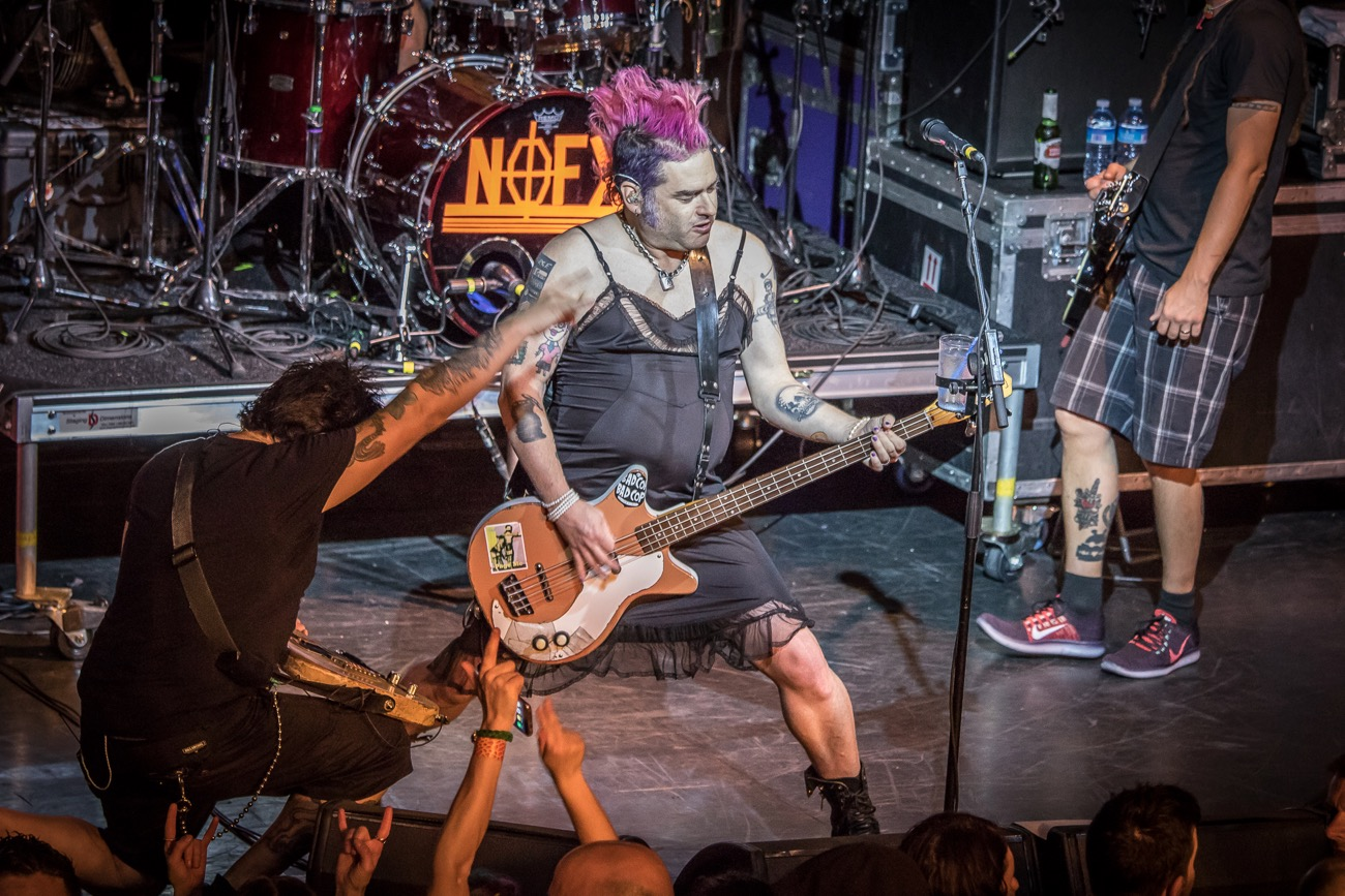 NOFX 3/10/17. Photo by Pat Gilrane Photo (@njpatg). Used with permission.