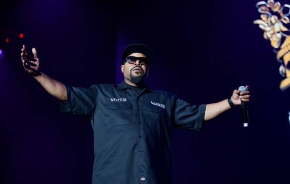 Ice Cube for 93.5 KDAY's Krush Groove @ The Forum 4/21/18. Photo by Derrick K. Lee, Esq. (@Methodman13) for www.BlurredCulture.com.