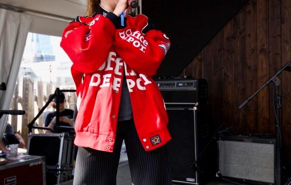 Mallrat @ Lustre Pearl during SXSW for Sounds Of Australia 3/13/18. Photo by Derrick K. Lee, Esq. (@Methodman13) for www.BlurredCulture.com.