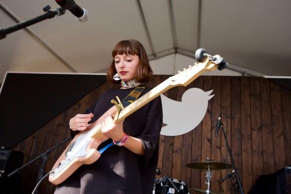 Stella Donnelly @ Lustre Pearl during SXSW 3/13/18. Photo by Derrick K. Lee, Esq. (@Methodman13) for www.BlurredCulture.com.