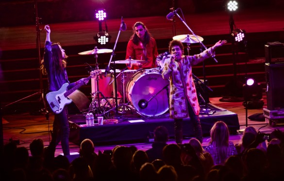 Greta Van Fleet at Ford Theatres 4/16/18. Photo by Derrick K. Lee, Esq. (@Methodman13) for www.BlurredCulture.com.