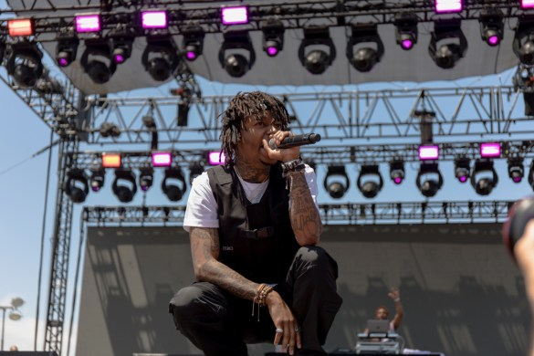 J.I.D. @ The Smoker's Club Fest 4/29/19. Photo by Markie Escalante (@Markie818) for www.BlurredCulture.com.