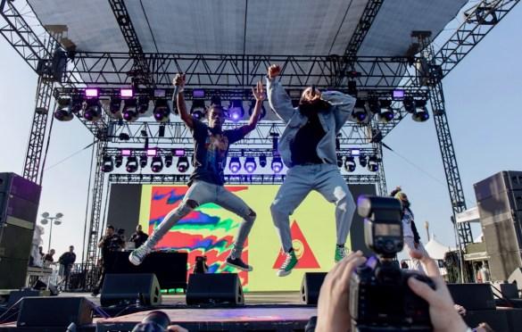 Flatbush Zombies @ The Smoker's Club Fest 4/29/19. Photo by Markie Escalante (@Markie818) for www.BlurredCulture.com.
