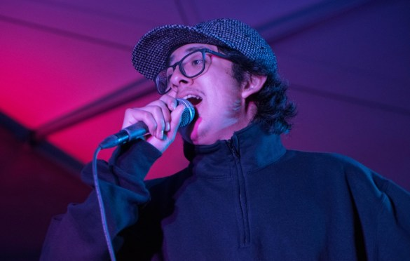 Cuco @ Bangers for SXSW 3/15/18. Photo by Mike Golembo (@Instalembo) for www.BlurredCulture.com.