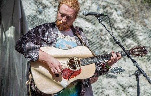 Tyler Childers @ Cheer Up Charlies for SXSW 3/16/18. Photo by Mike Golembo (@Instalembo) for www.BlurredCulture.com.