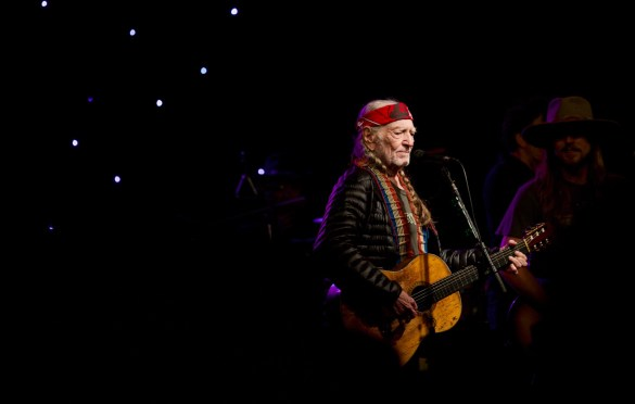 Willie Nelson at Luck Reunion 3/15/18. Photo by Derrick K. Lee, Esq. (@Methodman13) for www.BlurredCulture.com.
