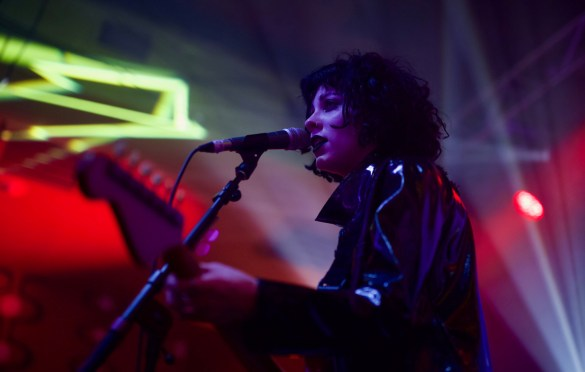 Pale Waves @ Latitude 30 during SXSW for BBC Introducing 3/13/18. Photo by Derrick K. Lee, Esq. (@Methodman13) for www.BlurredCulture.com.