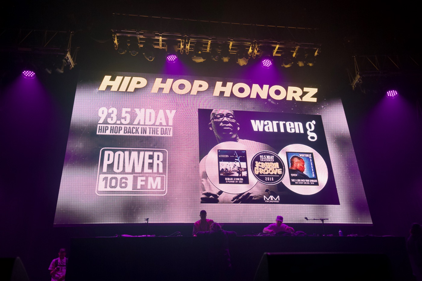 Warren G Gives The D O C  Props At Krush Groove – Blurred
