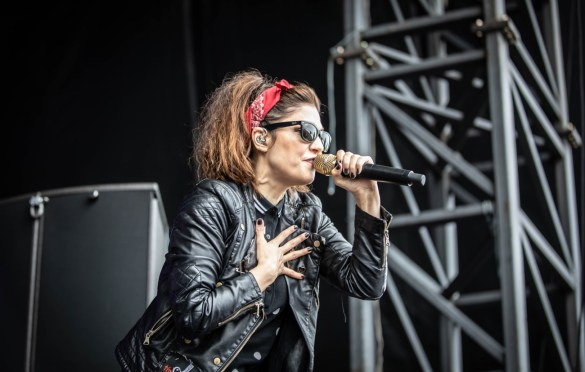 The Interrupters @ Punk in Drublic at Festival Pier (Philadelphia, PA) 5/13/17. Photo by Pat Gilrane Photo (@njpatg) for www.BlurredCulture.com.