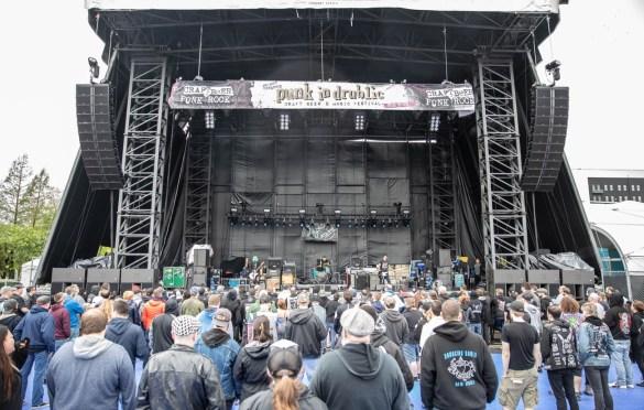 The Last Gang @ Punk in Drublic @ Festival Pier (Philadelphia, PA) 5/13/17. Photo by Pat Gilrane Photo (@njpatg) for www.BlurredCulture.com.