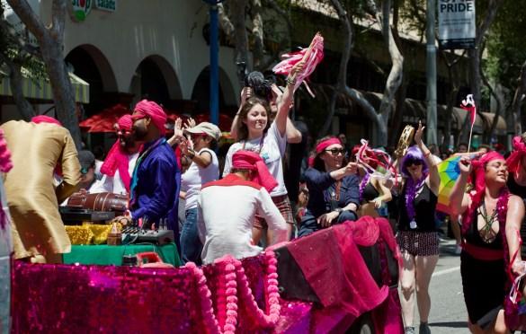 L.A. Pride Parade 6/10/18. Photo by Derrick K. Lee, Esq. (@Methodman13) for www.BlurredCulture.com.