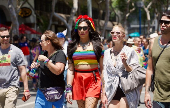 L.A. Pride Parade 6/10/18. Photo by Derrick K. Lee, Esq. (@Methodman13) for www.BlurredCulture.com.