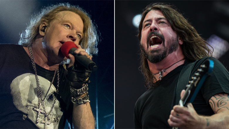 Foo Fighters and Guns N' Roses join forces for epic performance