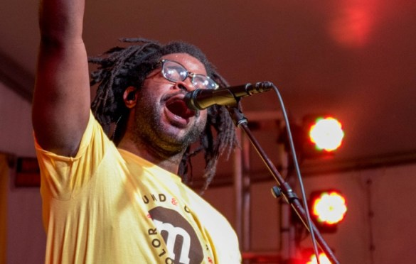 R.LUM.R. @ Lustre Pearl for SXSW 3/16/18. Photo by Mike Golembo (@Instalembo) for www.BlurredCulture.com.
