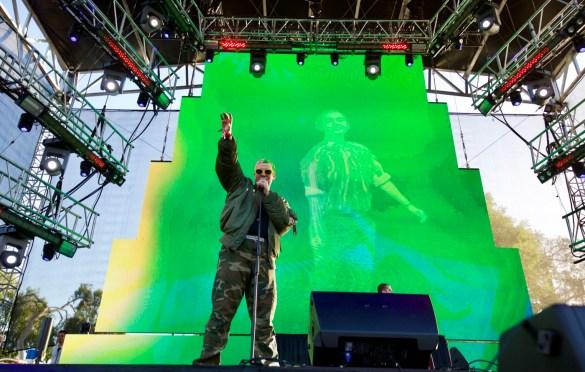 Jesse Saint John @ LA! Pride 6/9/18. Photo by Derrick K. Lee, Esq. (@Methodman13) for www.BlurredCulture.com.
