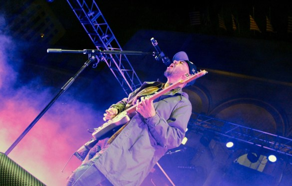 Mike Shinoda at Identity L.A. 2018. Photo by Rachel An Cauilan (@Rachelcansea) for www.BlurredCulture.com.