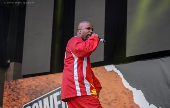 Tech N9ne at Powerhouse 2018 @ The Glen Helen Amphitheater 5/12/18. Photo by Simran Singh (@dj.sim) for www.BlurredCulture.com.