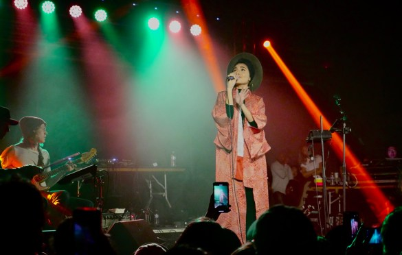 Yuna @ Heritage SF 5/19/18. Photo by Rachel Ann Cauilan (@Rachelcansea) for www.BlurredCulture.com.