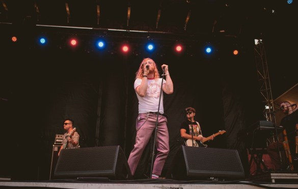 Allen Stone @ Arroyo Seco Weekend 6/24/18. Photo courtesy of Goldenvoice. Used with permission.