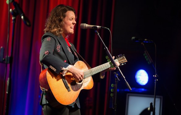 Brandi Carlile @ the Grammy Museum 7/12/18. Photo by Sonya Singh (@Sonyacansingh) for www.BlurredCulture.com.