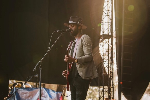 Gary Clark Jr. @ Arroyo Seco Weekend 6/24/18. Photo courtesy of Goldenvoice. Used with permission.