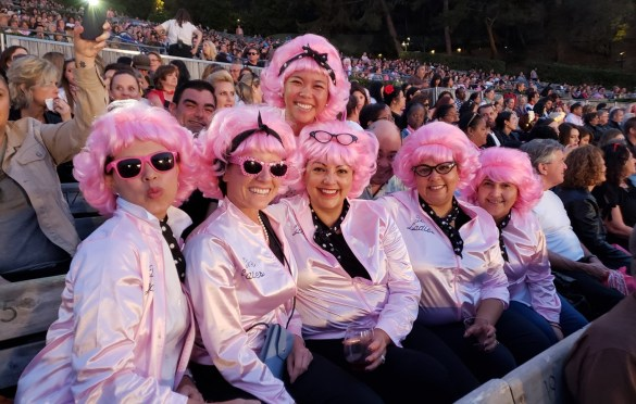 Costume Winners at Grease Sing-A-Long w/ Didi Conn, Sha Na Na & Special Guests @ Hollywood Bowl 06/30/18