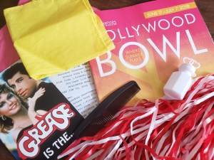Goodie Bag for the Grease Sing-A-Long w/ Didi Conn, Sha Na Na & Special Guests @ Hollywood Bowl 06/30/18