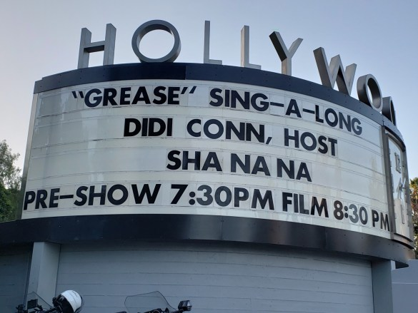 Grease Sing-A-Long w/ Didi Conn, Sha Na Na & Special Guests @ Hollywood Bowl 06/30/18