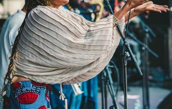 Kamasi Washington @ Arroyo Seco Weekend 6/23/18. Photo courtesy of Goldenvoice. Used with permission.