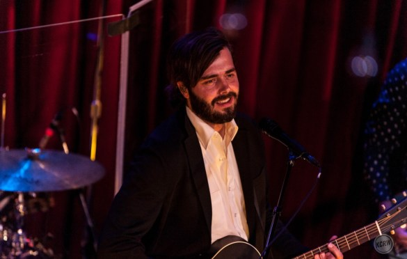Lord Huron @ KCRW'S Apogee Sessions 7/10/18. Photo by Steven Dewall. Courtesy of KCRW. Used with permission.