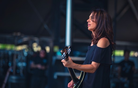 The Bangles @ Arroyo Seco Weekend 6/24/18. Photo courtesy of Goldenvoice. Used with permission.