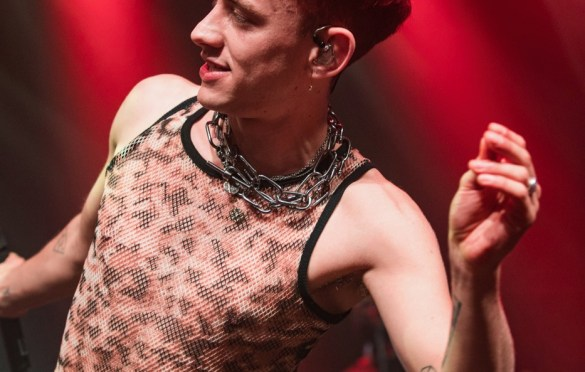 Years & Years Spread Love At Brooklyn Steel 6/24/18. Photo by Cortney Armitage (@CortneyArmitage) for www.BlurredCulture.com.