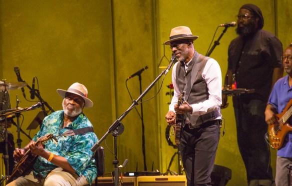 Taj Mahal and Keb' Mo' p/k/a TajMo @ The Hollywood Bowl 8/1/18. Photo by Derrick K. Lee, Esq. (@Methodman13) for www.BlurredCulture.com.