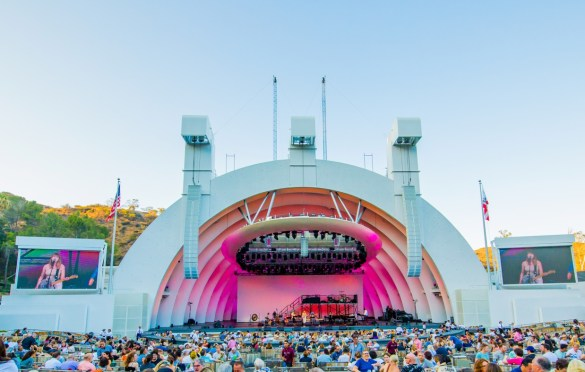 Wye Oak @ Hollywood Bowl 8/5/18. Photo by Derrick K. Lee, Esq. (@Methodman13) for www.BlurredCulture.com.