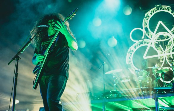 Coheed And Cambria @ FivePoint Amphitheatre  8/11/18. Photo by Rachel Ann Cauilan (@Rachelcansea) for www.BlurredCulture.com.