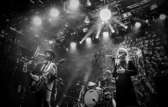 Lord Huron @ Brooklyn Steel 8/1/18. Photo by Vivian Wang (@Lithophyte) for www.BlurredCulture.com.