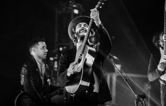 Lord Huron @ Brooklyn Steel 8/2/18. Photo by Vivian Wang (@Lithophyte) for www.BlurredCulture.com.