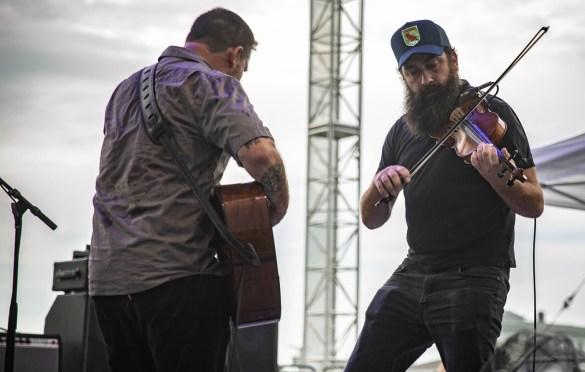 Chuck Ragan and the Camaraderie @ Stone Pony 8/18/18. Photo by Pat Gilrane Photo (@njpatg) for www.BlurredCulture.com.