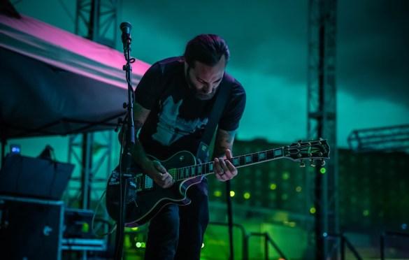 The Gaslight Anthem @ Stone Pony 8/18/18. Photo by Pat Gilrane Photo (@njpatg) for www.BlurredCulture.com.