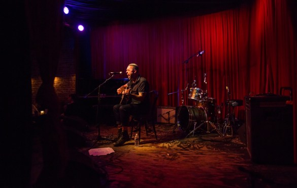 Justin Furstenfeld @ Hotel Cafe 7/19/18. Photo by Derrick K. Lee, Esq. (@Methodman13) for www.BlurredCulture.com.